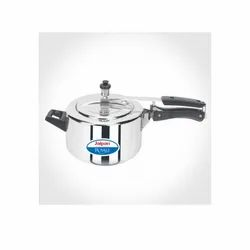 Stainless Steel Silver Jaipan Royal Inner Lid Pressure Cooker For Home