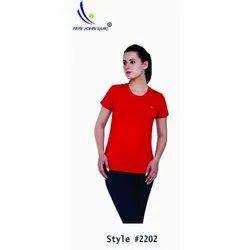 PepeJohn's (U.K) Half Sleeve Ladies Plain T-Shirts