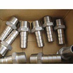 Stainless Steel Hose Nipple 202