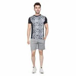 Polyester Black Sports Shorts