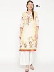 stylist printed kurti