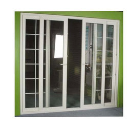4 Panel UPVC Sliding Door