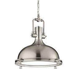 Nickel Finish Pendant Hanging Lamp