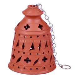 Terracotta Bell Lamp Shade