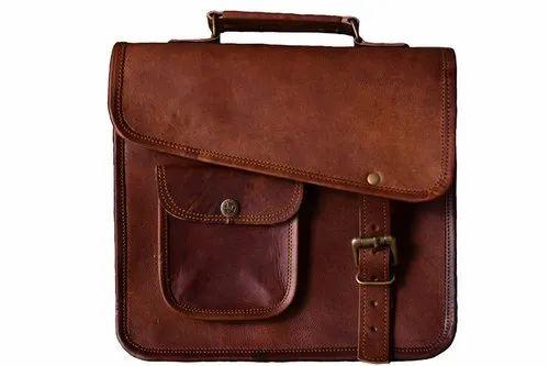 315b283b8de7 Leather Laptop Messenger Bag