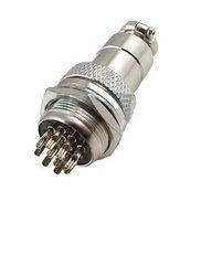 Sibass 10 Pin Industrial Metal Round Conectors
