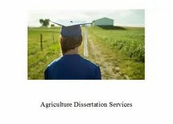 Agriculture, Policy And Development PhD Dissertation Writing Services