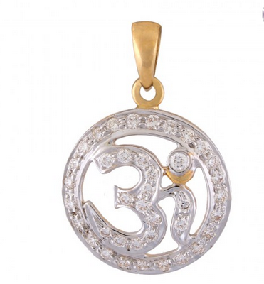 Om diamond pendant whopt00003dd fxy37 at rs 48818 pair diamond om diamond pendant whopt00003dd fxy37 mozeypictures Image collections