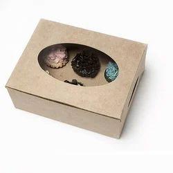 7K Twelve Mini Cupcake Box with Window & Insert