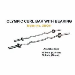 Olympic Curl Bar With Bearing