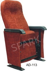 AD-113 Auditorium Tip-Up without Push Back Chair