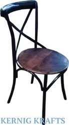 Kernig Krafts Metal Patio Restaurant Cafe Chair