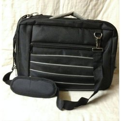 Black Zipper Executive Bag