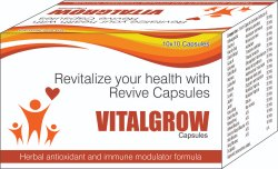 Herbal Antioxidant And Immune Modulator Formula