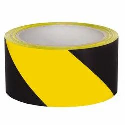 48 mm Yellow / Black Zebra Floor Marking Tape, Size: 2 inch