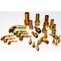 Brass Hydraulic Hose Fittings, For Structure Pipe, Size: 1/4 Inch-1 Inch