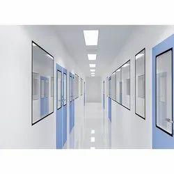PUF Insulated Svarn Clean Room Modular Panel