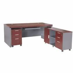 Executive Table With Side Storage