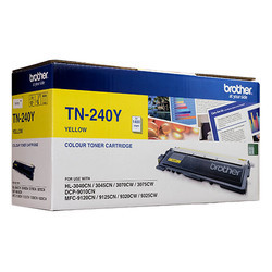 Brother TN 240 Yellow Color Toner Cartridge