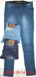 Washed 28-34 Mens Denim Jeans