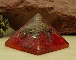 Manufacturer of Tiger Eye Orgone Pyramid & Chakra Orgone