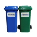 Polywell Plastic Outdoor Litter Bins For Home, Office