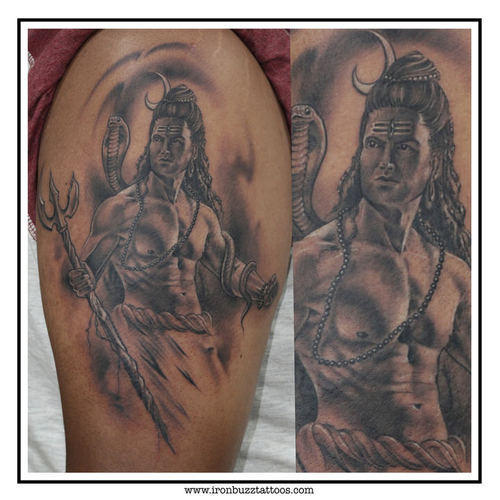 Lord Shiva Tattoo The Lord Is Back Series By Eric Jason: Best Lord Shiva Tattoos, Tattoo Job Work In Bandra West