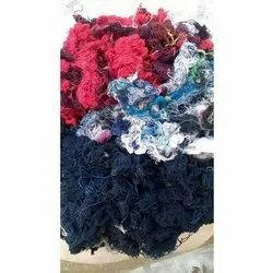 Raw Multicolor Cotton Yarn Waste, For Machine Parts Cleaning, Packaging Type: HDPE Bags