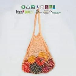 Natural Recycle Organic Cotton Mesh Bag