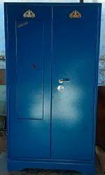 Blue Steel Home Cupboard