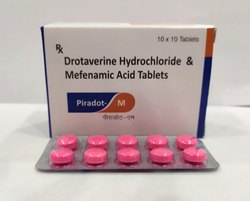 Drotaverine 80 mg, Mefenamic Acid 250 mg