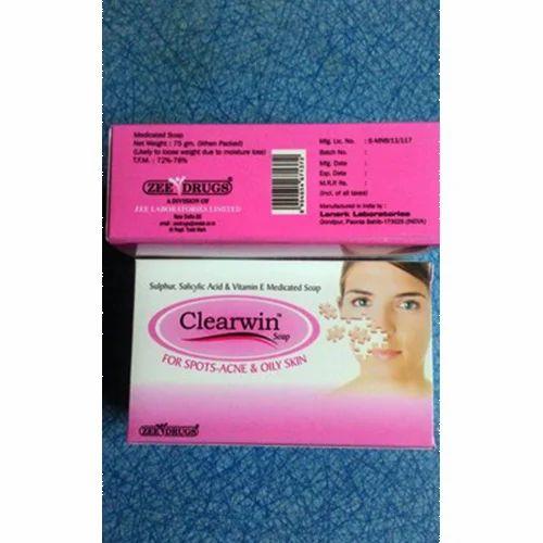 Herbal Clearvin Soap, Packaging: 75-100 gm
