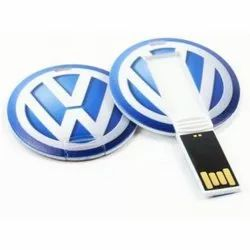 Round Shape Card USB Pen Drive