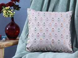 Chambray Cotton Cushion Covers