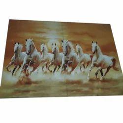 Ceramic Horse Printed Wall Tiles, Size: Medium ,Packaging Type: Carton