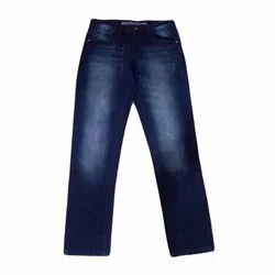Regular Fit Button Stylish Denim Jeans, Waist Size: 30 And 32