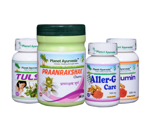 Planet Ayurveda Allergy Care Pack Packaging Type Bottle