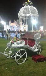 Wedding Cart Decoration