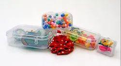 Plastic Rectangular Transparent Container, Capacity: 400 Ml