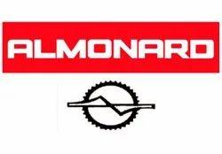 Wall Mount ALMONARD INDUSTRIAL WALLMOUNT FAN, Warranty: 1 Year, Size: 24 & 30