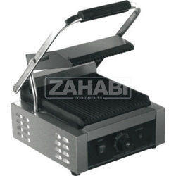 Stainless Steel Sandwich Griller, For Commercial, Model Name/Number: ZIE-406F