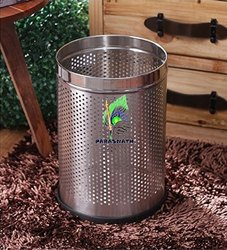 Parasnath Perforated Open Bin Stainless Steel Dustbin