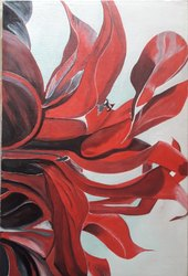 Acrylic On Canvas Wall Painting, Size: 19x29