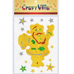 Multicolor Craft Villa Festival A3 X-Mas Card, Size: 12*16 Inch, Packaging Type: Packet