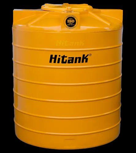 500L Hitank Yellow Water Storage Tank