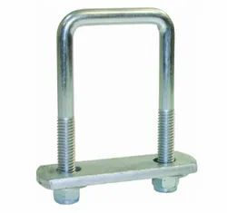 Round Square U Bolt, For Industrial