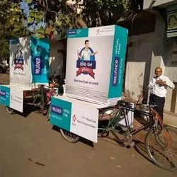 Tricycle Brand Advertising Services, in Pan India