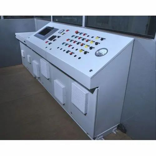 600 W Floor Mounted DRUM MIXPLANT CONTROL PANEL