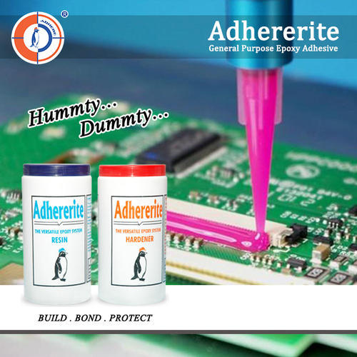 Adhererite Liquid Industrial Epoxy Adhesives, Packaging Size: 1.8 Kg