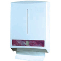 White Plastic Tissue Dispenser